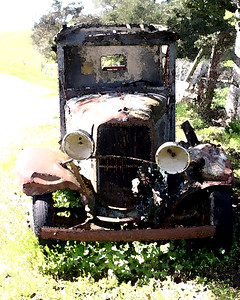 OLD TRUCK WC