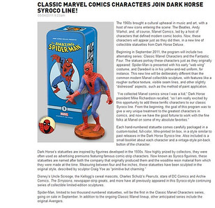 Classic Marvel Comics Syroco