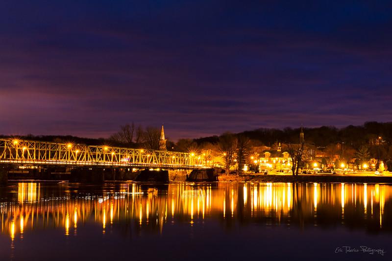 Lambertville at Night