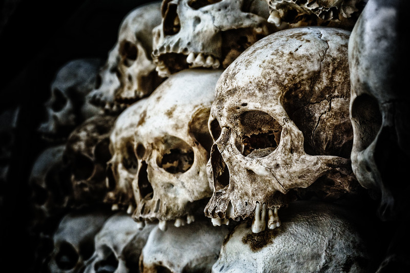Memorial to the dead - The Killing Fields