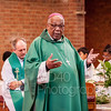 Mass with Archbishop of Trinidad, Father Joseph Everard Harris