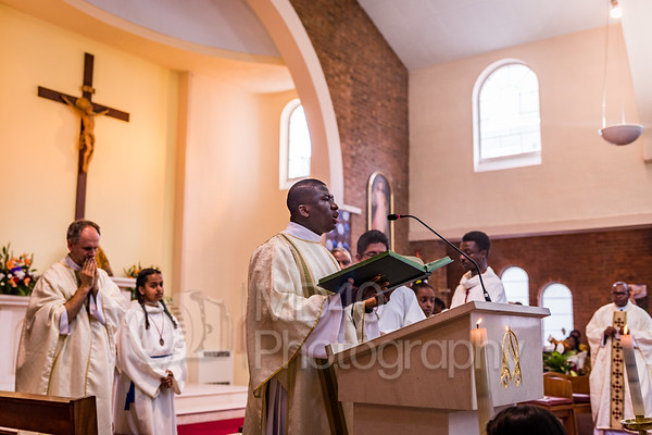 Fr Chinedu's First Mass at Our Lady of Fatima Church, London