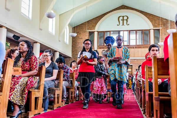 Parish International Mass - 15 May 2016