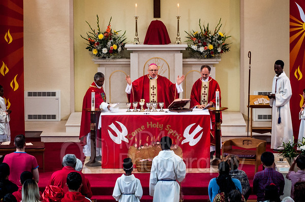 Parish International Mass - 15 May 2016