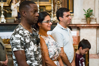 Mass at the Church of St Anthony. Lisbon, Portugal.