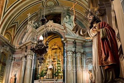 Church of St Anthony. Lisbon, Portugal.
