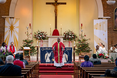 Images from the Feast of St Stephen Mass - 2018