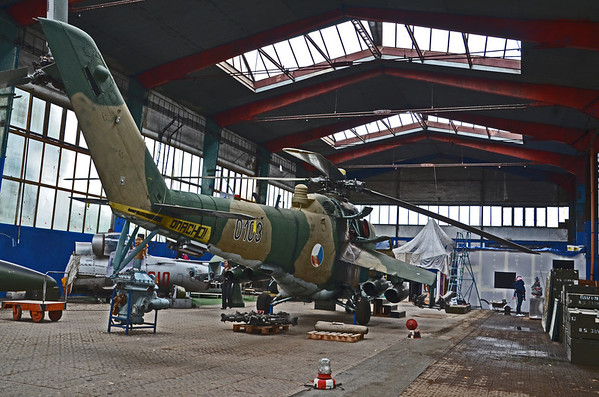 OLOMOUC AVIATION MUSEUM CZECH REP