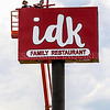 IDK sign