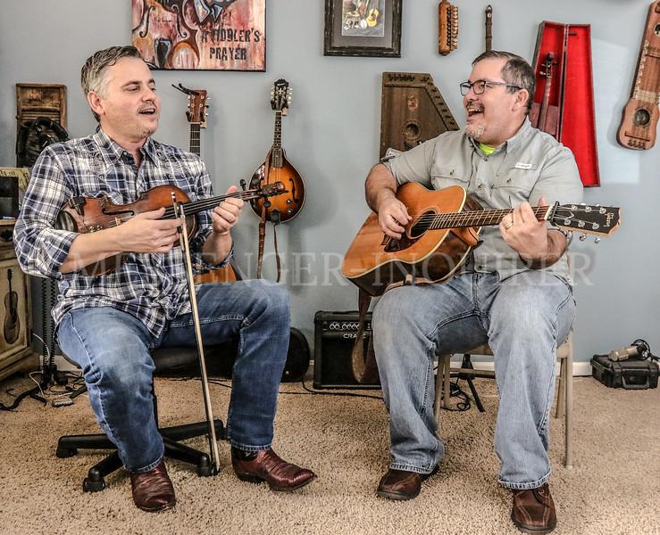 Randy Lanham and Wayne Morris