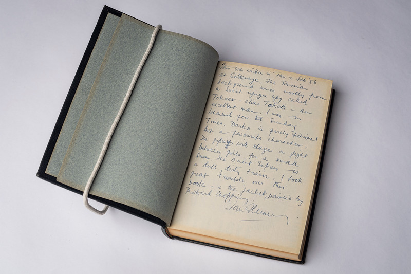 Ian Fleming's handwritten notes around the time he wrote From Russia With Love, ca. 1956