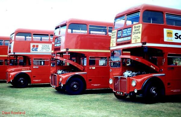 Netley Bus Rally, 11 July 1993