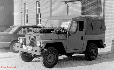 Land Rover CPD 816Y, Fort Brockhurst Military Vehicle Rally, Gosport, Summer 1994.