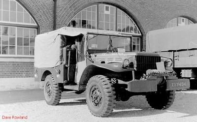 XSV 494, Fort Brockhurst Military Vehicle Rally, Gosport, Summer 1994.