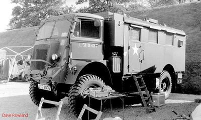 OYG 203E, Fort Brockhurst Military Vehicle Rally, Gosport, Summer 1994.