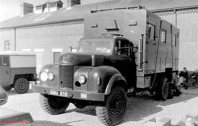GSU 610, Fort Brockhurst Military Vehicle Rally, Gosport, Summer 1994.