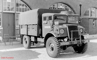 KTO 822, Fort Brockhurst Military Vehicle Rally, Gosport, Summer 1994.