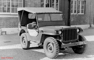 Jeep SPF 641, Fort Brockhurst Military Vehicle Rally, Gosport, Summer 1994.
