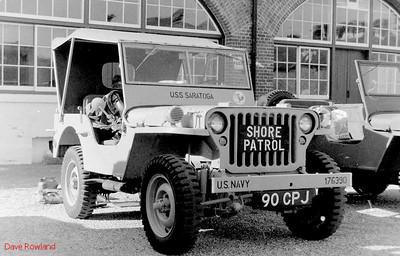 Jeep 90 CPJ, Fort Brockhurst Military Vehicle Rally, Gosport, Summer 1994.