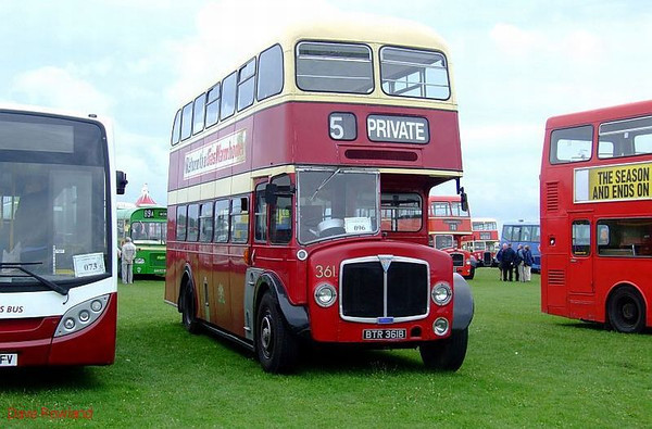 Stokes Bay Bus Rally, 06 August 2008