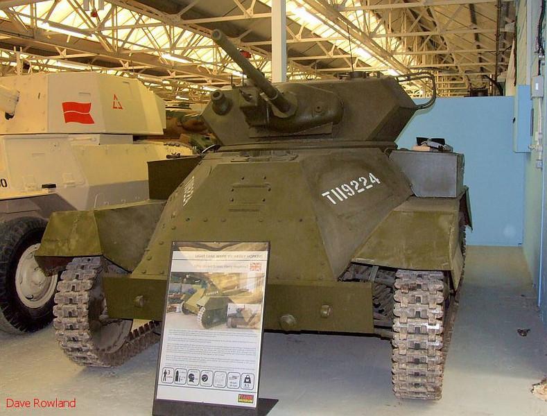 "Light Tank Mk.VIII ""Harry Hopkins"" (GB). Bovington Tank Museum, 20th July 2009."