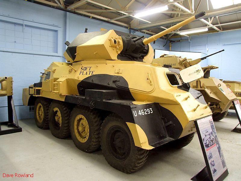 Marmon Herrington Armoured Car U46293 (South Africa). Bovington Tank Museum, 20th July 2009.