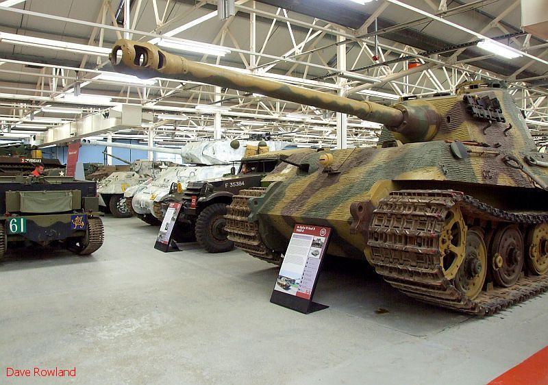 Bovington Tank Museum, 20th July 2009.