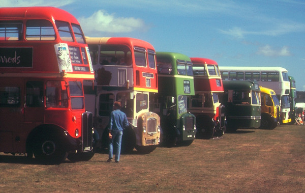 Stokes Bay Bus Rally, August 1988