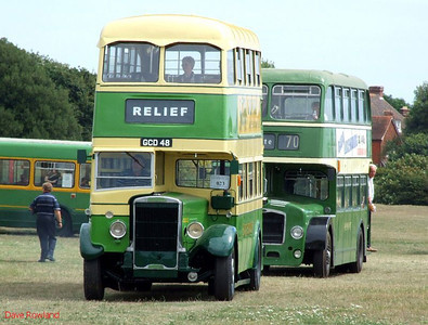 Stokes Bay Bus Rally, 01 August 2010