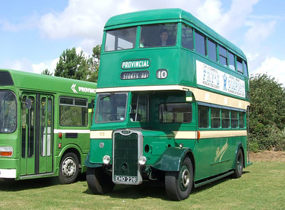Stokes Bay Bus Rally, 07 August 2011