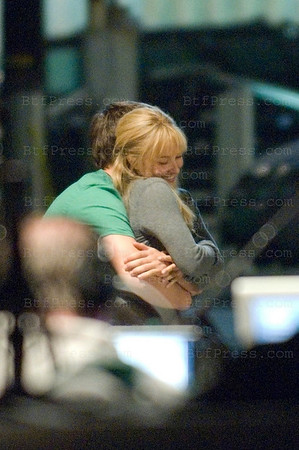 "Venice, California, January 28,2009: One day with Hayden Panettiere during the set of the TV Series "" Heroes "" with a mexican situation."