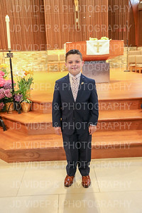 Augie's First Communion