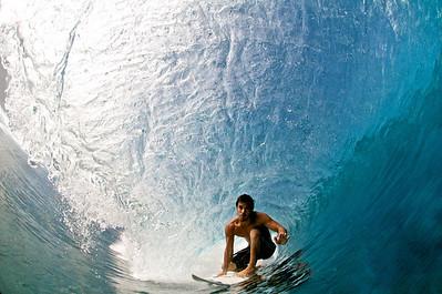 surf at teahupoo