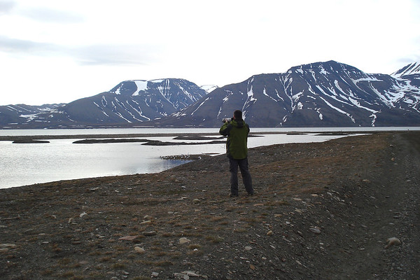 Στο νησί Spitsbergen, στο Αρχιπέλαγος Svalbard, στον Αρκτικό Ωκεανό / Photo © Κ. Κατσιαμάκας