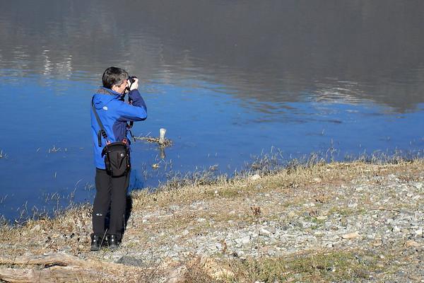 Φωτογραφίζοντας, στη Λίμνη Κερκίνη / Photo © Θ. Δαλπαναγιώτη