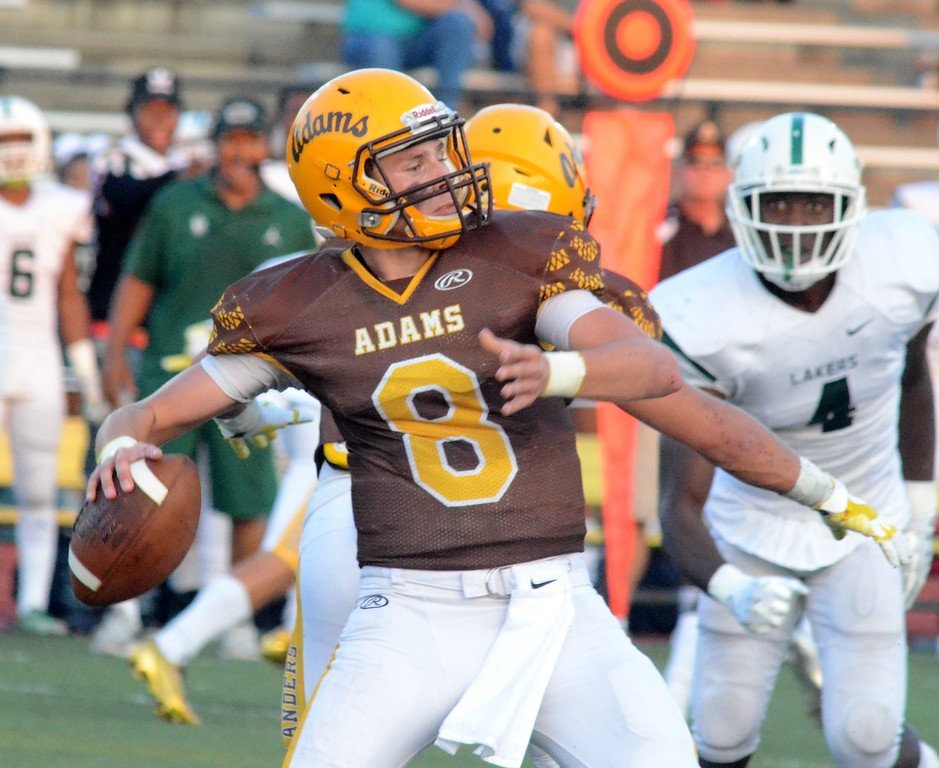 . West Bloomfield created a tie atop the OAA Red with a 17-16 win at Rochester Adams on Friday night. (Oakland Press photo gallery by Drew Ellis)