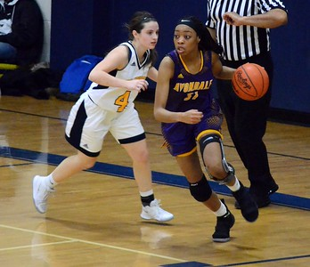 Auburn Hills Avondale earned a 49-28 road win over Clawson in non-conference girls basketball action on Friday night. (Digital First Media photo gallery by Drew Ellis)