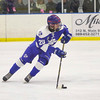 Detroit Catholic Central overcame a gritty performance by Bay City Central to take home a Division I Quarterfinal victory by a 6-2 score Wednesday night in Burton. The Shamrocks move on to play at USA Hockey Arena Friday against Grandville. (MIPrepZone photo by Timothy Arrick)