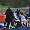 The Berkley Bears and Oxford Wildcats battled to a scoreless draw in the OAA White match played on Monday May 1, 2017 at Oxford HS.  (MIPrepZone photo by Ken Swart)