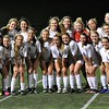 Stoney Creek defeated Berkley 4-0 in an Oakland Activities Association girls soccer game on Tuesday, April 18, 2017. The win was the 100th of Cougars coach Bryan Mittelstadt's career. (MIPrepZone photo gallery by Dan Fenner)