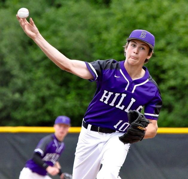 Bloomfield Hills hosted Birmingham Groves for an opening round game in the district playoffs on Tuesday, May 30, 2017. (MIPrepZone photo gallery by Dan Fenner)