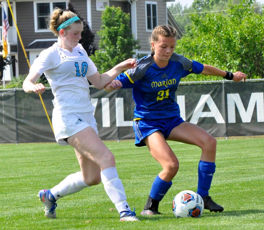. Birmingham Marian defeated Grand Rapids Forest Hills Northern, 4-2, in the Division 2 girls soccer championship game on Saturday, June 16, 2018. (Photo gallery by Dan Fenner/The Oakland Press)