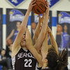 The Birmingham Seaholm Maples defeated the Rochester Falcons 42-30 in the game played on Tuesday January 10, 2017 at Rochester HS.  (MIPrepZone by Ken Swart)