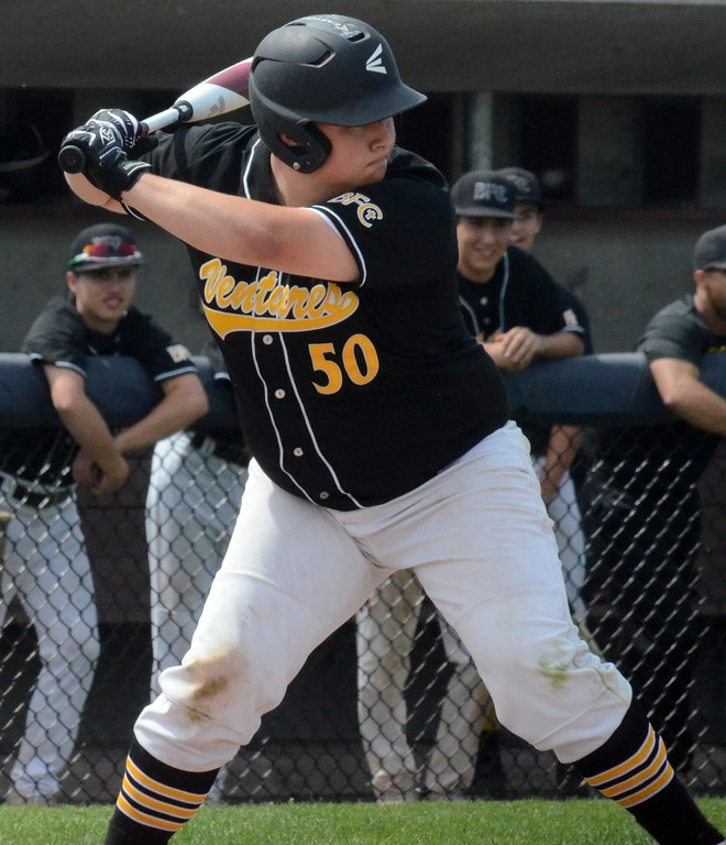 . Madison Heights Bishop Foley defeated New Lothrop, 8-1, in the Division 3 baseball quarterfinal at Saginaw Valley State University on Tuesday afternoon. (Oakland Press Photo Gallery by Drew Ellis)