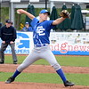 Detroit Catholic Central junior Johnny Lobbia pitched a strong game in his team's 3-1 loss to Birmingham Brother Rice Friday. (MIPrepZone photo by Jason Schmitt)