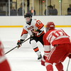Birmingham Brother Rice opened up its home season with a 5-2 victory over Orchard Lake St. Mary's Wednesday night at the Oak Park Ice Arena. (MIPrepZone photo by Jason Schmitt)