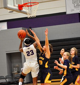 Bloomfield Hills hosted Clarkston for an Oakland Activities Association Red Division basketball game on Friday, Jan. 4, 2019. (DAN FENNER - For Digital First Media)