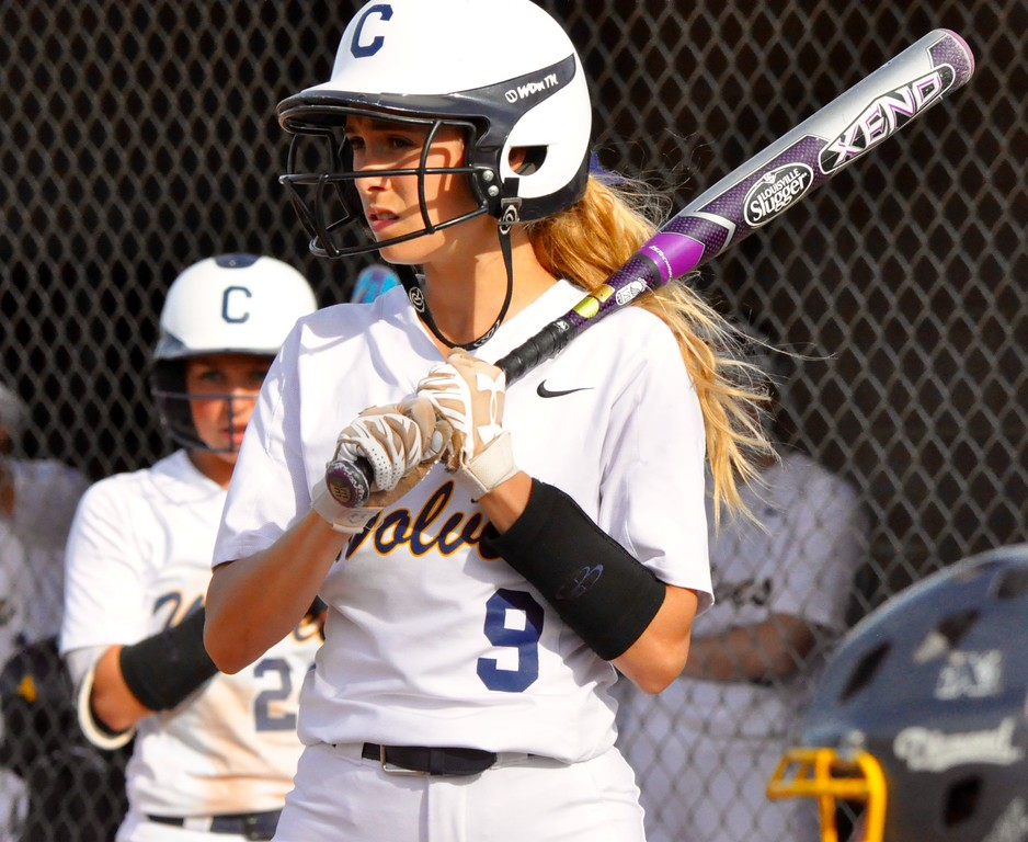 . Oxford hosted Clarkston for an OAA Red Division softball doubleheader on Thursday, May 17, 2018. Oxford won the first game 3-0, while Clarkston took Game 2, 11-1. (Photo gallery by Dan Fenner/The Oakland Press)
