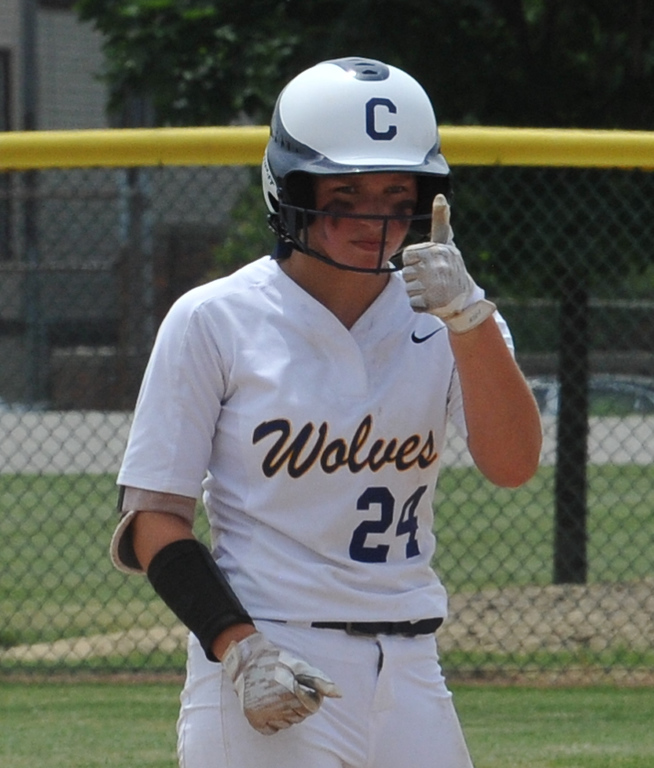 . The Clarkston Wolves lost the D1 Quarterfinal game to Hartland 3-2  The game was played on Tuesday June 12, 2018 at Wayne State University.  (Oakland Press photo by Ken Swart)