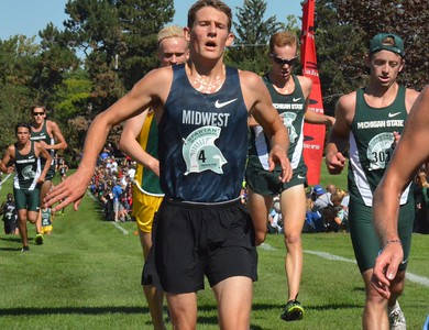 MSU freshman Morgan Beadlescomb, competing unattached, was third overall.